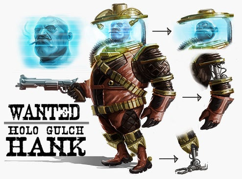 TimeSplitters 4 Concept Art Drips From Corpse of Free Radical