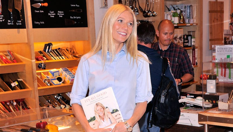 Checking in With Gwyneth Paltrow, Book Critic to the Stars