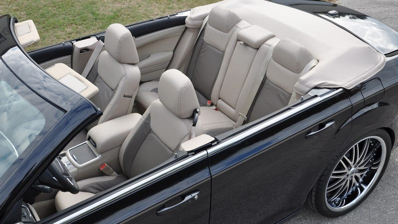 Get your vitamin D in a convertible Chrysler 300