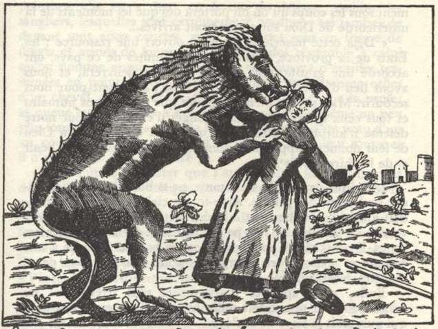 The Greatest Werewolf Art Of The Middle Ages And Renaissance