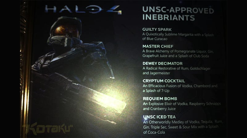 These Halo 4 Alcoholic Beverages Don't Require Teabags