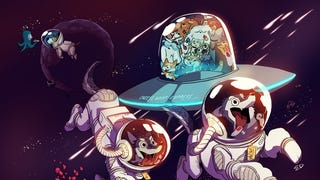 Concept Art Writing Prompt: Dogs In Spaaaaaaaaaaaace!