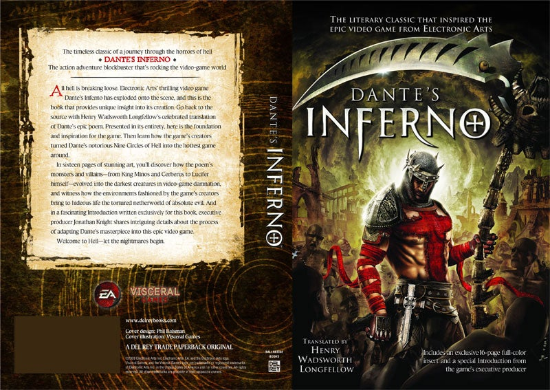 Dante's Inferno: The Official Novelization Of The Book