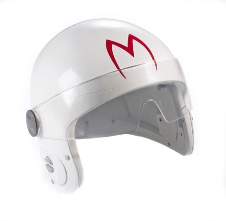 "Speed Racer Race-A-Round Sound Helmet Has Us Saying ""Vroom Vroom"", Crashing Into Walls"