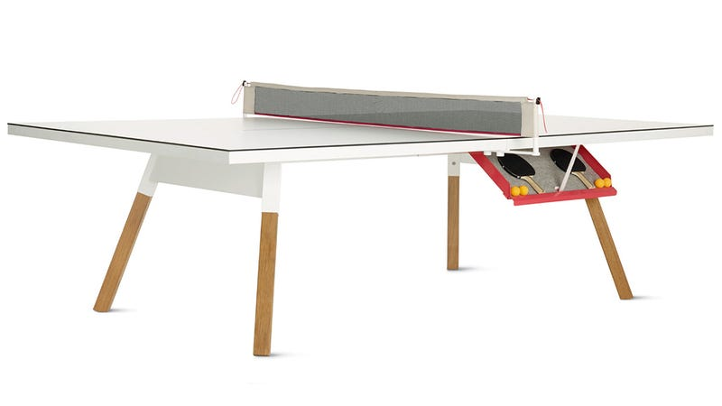 A Sleek Ping Pong Table You Won't Want To Hide in the Basement