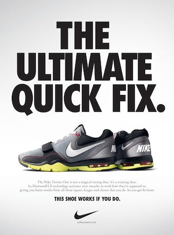 "Nike Confirms ""New"" Big Butt Ad Is Fake"
