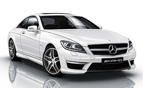 2011 Mercedes-Benz CL AMG's Get LEDs, Botox