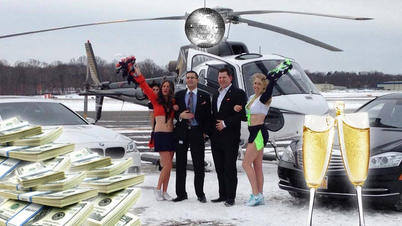 Travel to the Super Bowl like a Super Douche