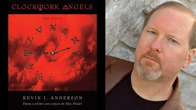 Kevin J. Anderson talks Clockwork Angels, his new novel with Rush drummer Neil Peart