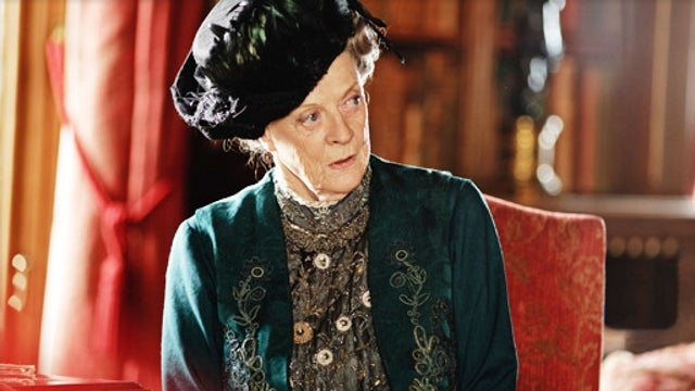 Relax: Maggie Smith Is Not Leaving Downton Abbey Next Season