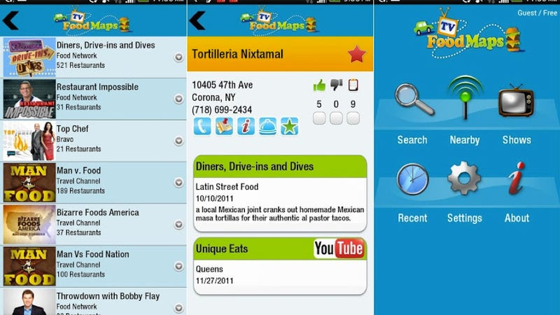 Word Lens, TVFoodMaps, and More