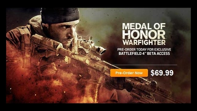 Medal of Honor Preorder Said to Offer Beta Access to Battlefield 4