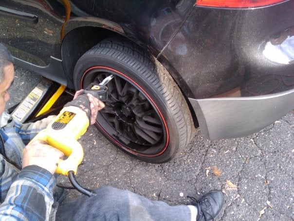 How Not To Remove A Lug Bolt