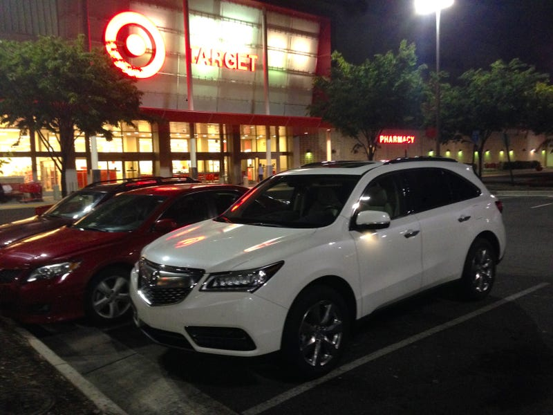 I Have An Acura MDX For The Next Week