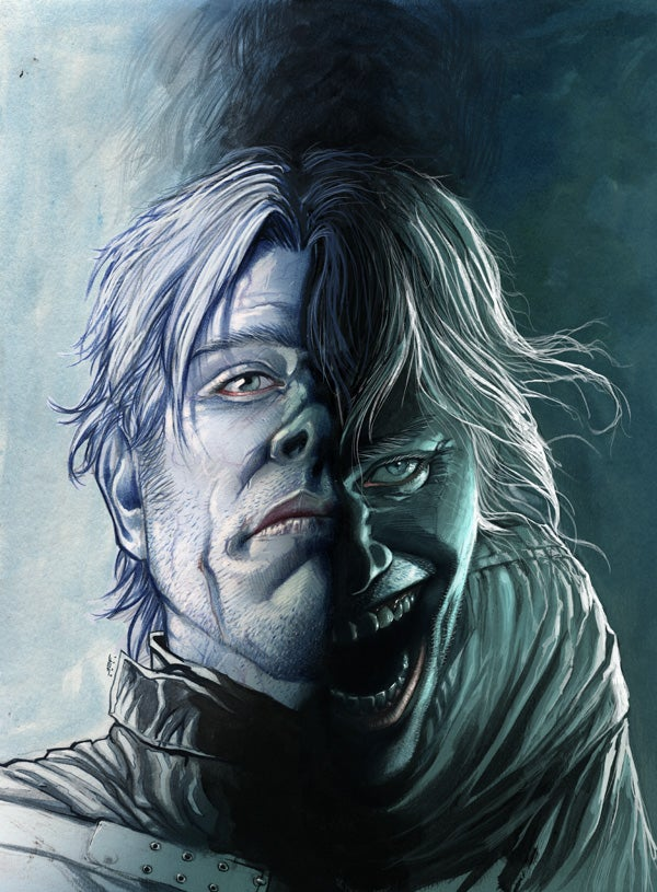 Your first look at Colder, Dark Horse's new comic about a living man with a corpse's body temperature