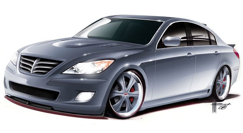 RKSport Hyundai Genesis Smacks SEMA With Heavy Hand Of Awesomness