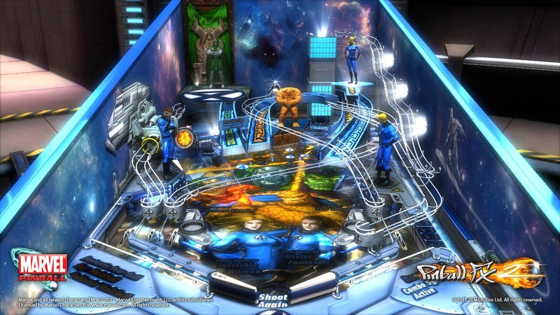 Marvel Pinball Celebrates 50 Years of the Fantastic Four