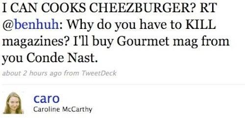 He Can Haz Gourmet?