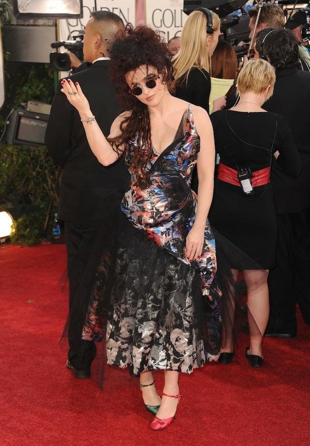 Helena Bonham Carter Dares Critics To Mock Her Awesome Ensemble