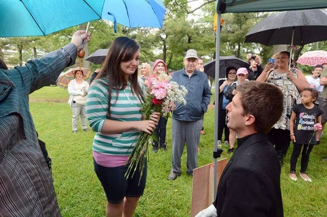 Reporter's Investigation Leads to Her Marriage Proposal