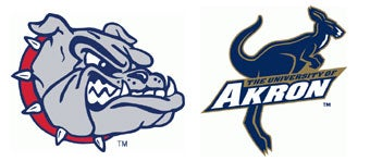 NCAA First Round: (4) Gonzaga vs. (13) Akron