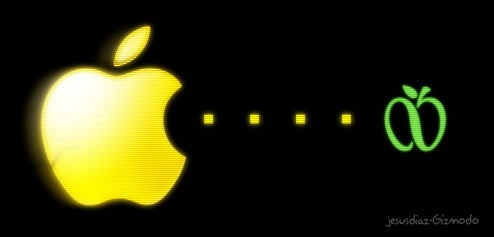 Apple Attacks NYC Over GreeNYC Logo, Steve Jobzilla to Destroy Central Park Next