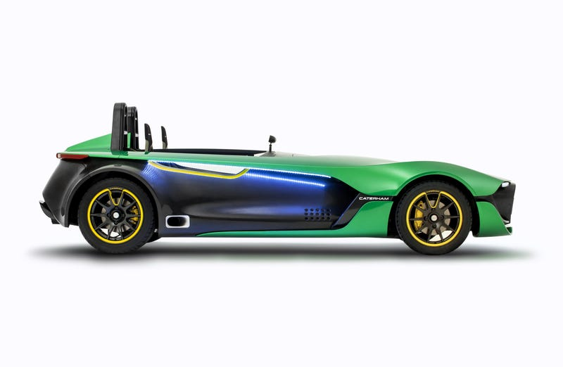 The Caterham AeroSeven Is A Carbon Stimulant Headed For Production