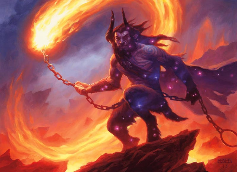 Legends walk among us in this Magic the Gathering: Born of the Gods art