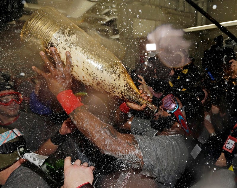 Here's Your Champagne-Soaked Gallery Of Red Sox Celebration Pictures