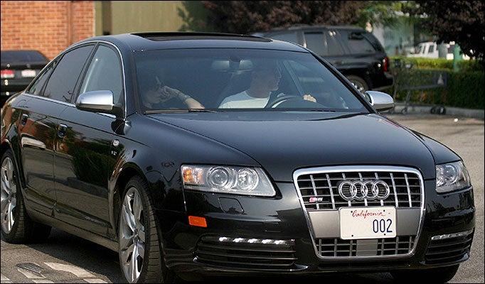 Daniel Craig Drives An Audi S6