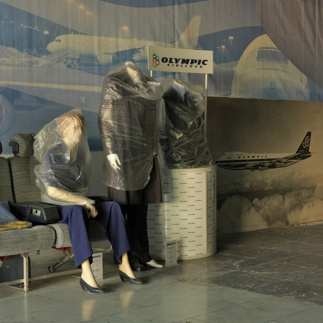 Stark, Beautiful Photos of an Abandoned Greek Airport