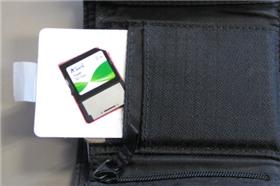 DIY credit card SD holder