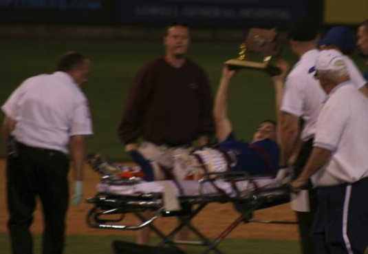 Happiness Broke This High School Pitcher's Leg