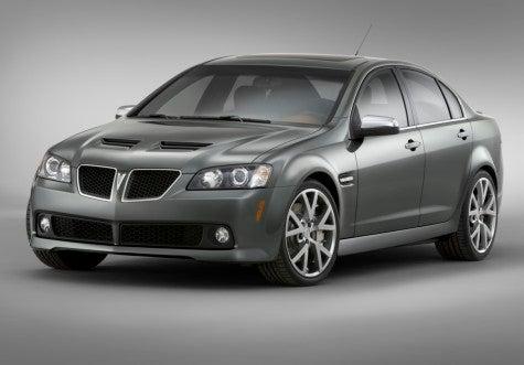 Chicago Auto Show: Pontiac G8 GT Show Car