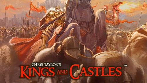 Gas Powered Announces Kings And Castles, Chris Taylor Bitten By Horse