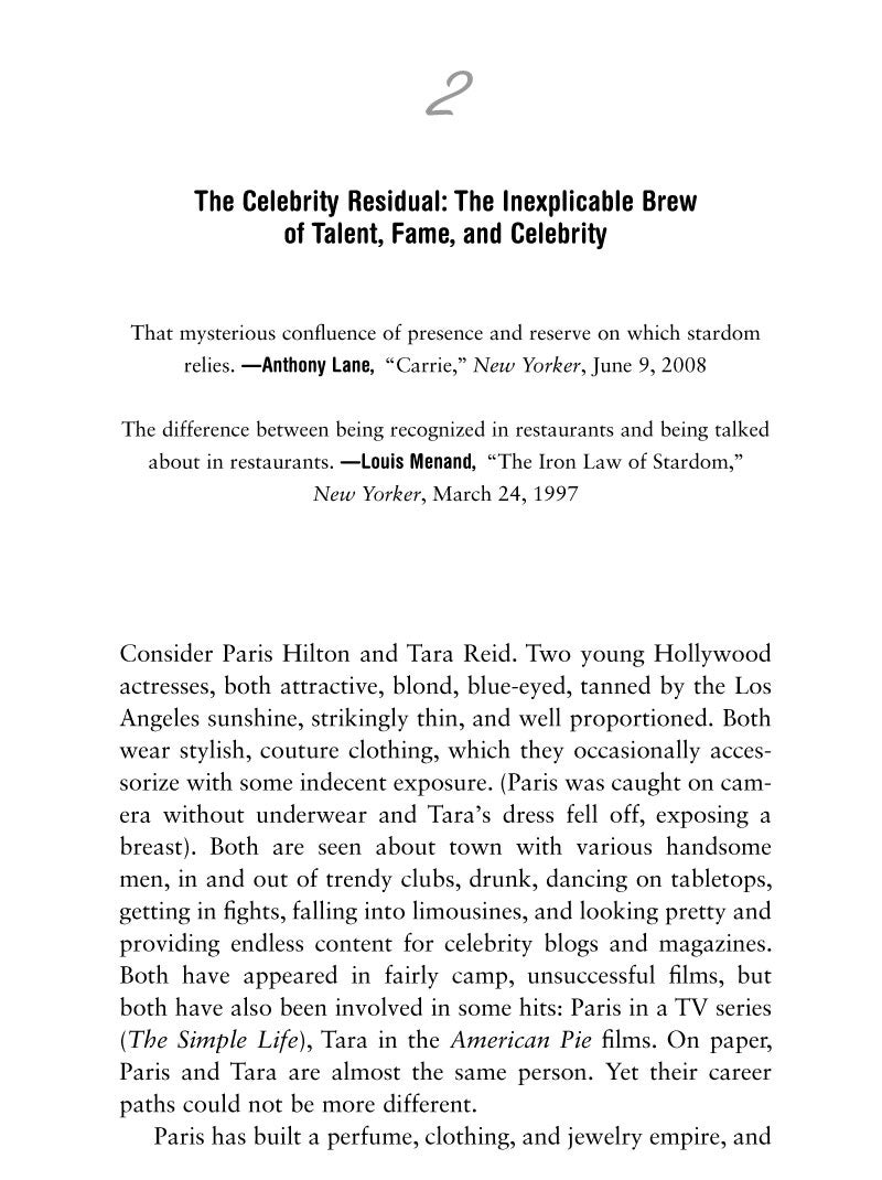 Starstruck: The Business of Celebrity - Excerpts