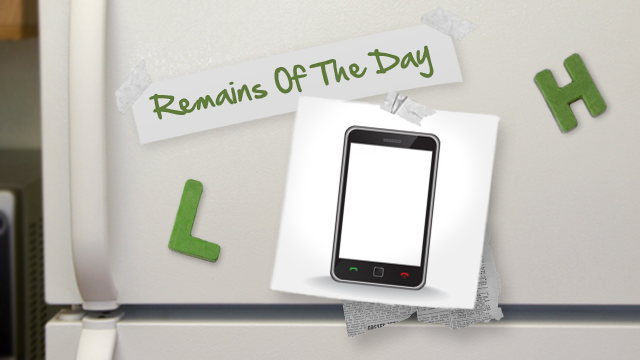 Remains of the Day: Smartphones to Outnumber Humans?