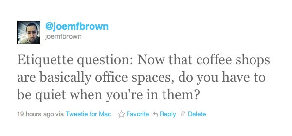 Do You Have to Be Quiet in a Coffee Shop?