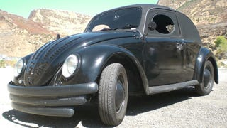 Meet Horace the Hate Bug. How come I never knew Herbie had an evil twin?