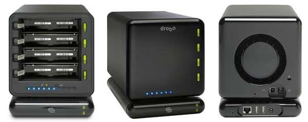 DroboShare Adds Gigabit Ethernet to Data Robotics' Lil Server Bot