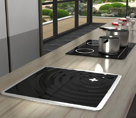 Ultrasonic Dishwasher Cavitates Your Dishes to Cleanliness