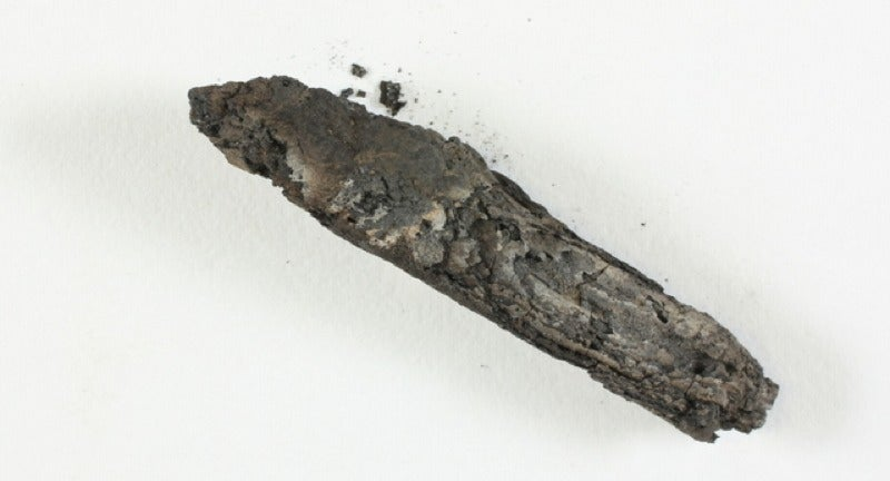 Wondergadget Allows Researchers To Read a Charred Biblical Scroll