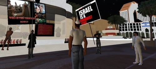 War Hits Second Life!