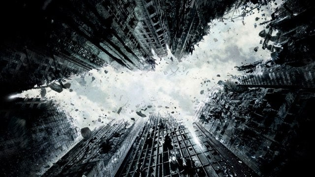 First poster for The Dark Knight Rises shatters Gotham's skyline