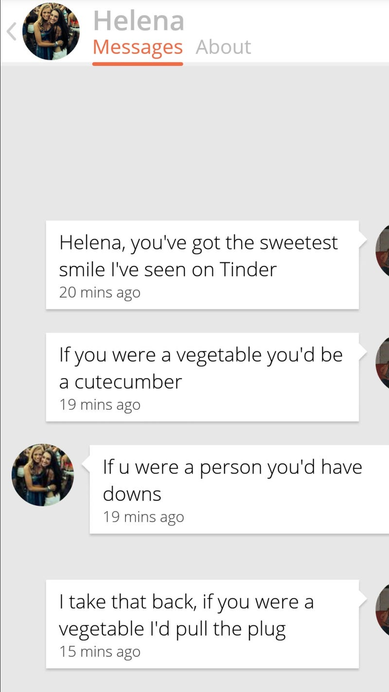 I should make a Tinder just to do stuff like this