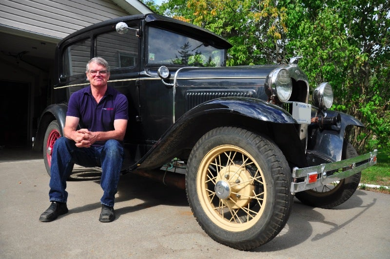 This guy raced his 1930 Model A daily driver across Canada non-stop