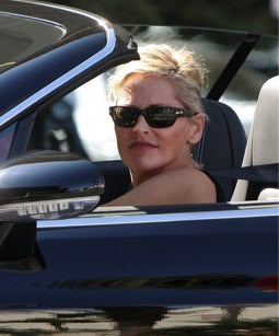 Sharon Stone's Groceries Get the Glamour Treatment