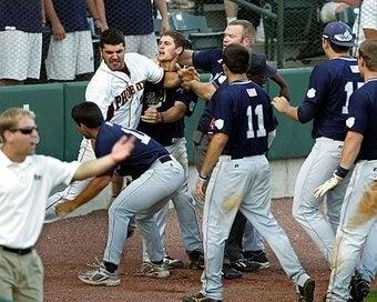 An Honest-To-Goodness College Baseball Brawl