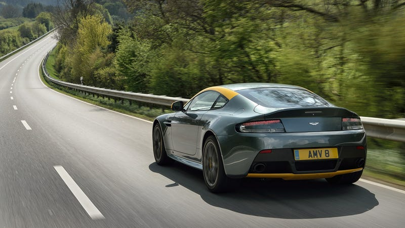 The Aston Martin V8 Vantage GT Is A Screaming Deal At Under $100,000