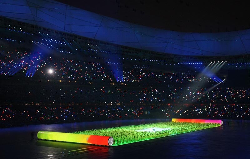 When Technology Becomes Art: Photography of the Beijing Olympics Opening Ceremonies